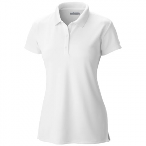 Columbia Women ' S Innisfree Ss Polo - White