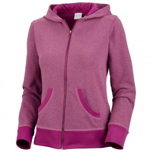 Columbia Women ' S Heather Honey Hoodie ( Extended Sizes ) - Berry Jam