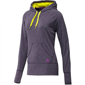 Adidas Women ' S Ultimate Pullover Fleece Sweatshirt - Dark Violet / Ultra Purple