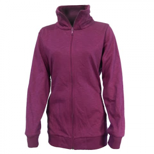 Columbia Women ' S Wear It Everywhere Long Full Zip - Dark Raspberry