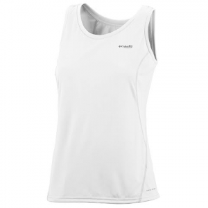 Columbia Women ' S Silver Ridge Knit Tank - White