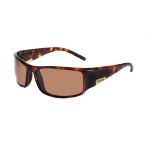 Bolle King Sunglasses ( Dark Tortoise / Polarized A - 14 ) - Tortoise