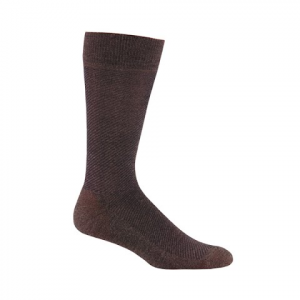 Fox River Mens Oxford Casual Socks - Brown Heather