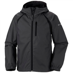Columbia Boy ' S Flow Summit Jacket - Grill / Black