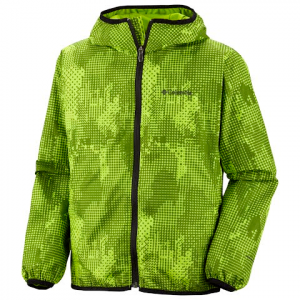 Columbia Youth Pixel Grabber Wind Jacket - Wham