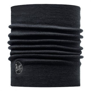 Buff Merino Wool Thermal Neckwarmer - Black