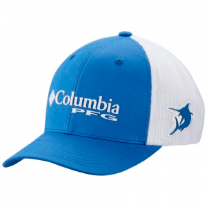 Columbia Men ' S Pfg Mesh Ball Cap - Vivid Blue