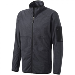 Adidas Outdoor Mens Ht Melange Fleece Jacket - Black