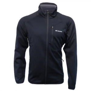 Columbia Men ' S Helter Shelter Fleece Jacket - Black