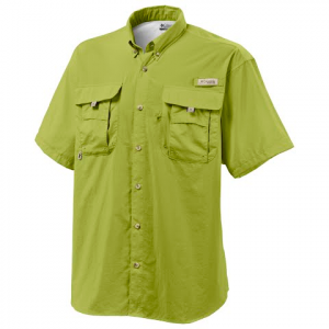 Columbia Mens Bahama Ii Short Sleeve Shirt ( Extended Sizes ) - Leap Frog