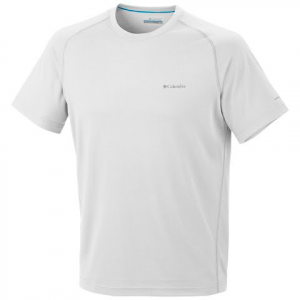 Columbia Men ' S New Mountain Tech Iii S / S Top - White