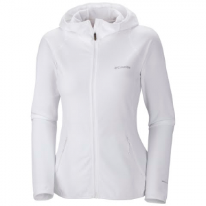 Columbia Women ' S Summit Rush Full Zip Hoodie - White