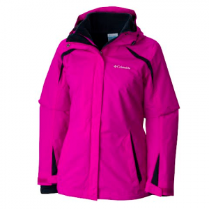 Columbia Women ' S Blazing Star Interchange Jacket - Groovy Pink