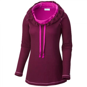 Columbia Women ' S Sweatheart Grove Hoodie - Purple Dahlia