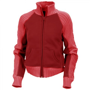 Columbia Women ' S Ridge Crest Full Zip Sweater - Beet