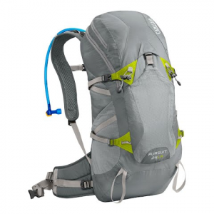 Camelbak Pursuit 24 Lr Hydration Pack - Gunmetal / Lime Punch