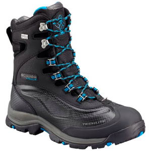 Columbia Men ' S Bugaboot Plus Iii Titanium Omni - Heat Winter Boot - Black / Hyper Blue