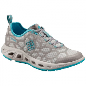 Columbia Women ' S Megavent Multi - Sport Shoe - Oyster / Opal Blue