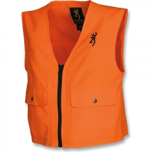 Browning Junior Safety Vest - Blaze Orange