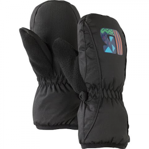 Burton Toddler Minishred Grommitt Mittens - True Black