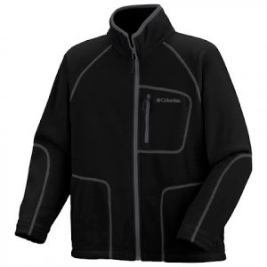 Columbia Boys Youth Fast Trek Full Zip Fleece - Black ( 012 )
