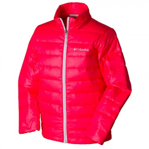 Columbia Youth Airspace Down Jacket - Laser Red
