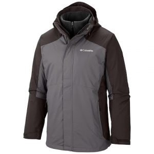 Columbia Men ' S Eager Air Interchange Jacket ( Extended Sizes ) - Boulder