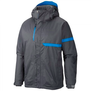 Columbia Men ' S Fusion Exact Jacket - Tradewinds Grey