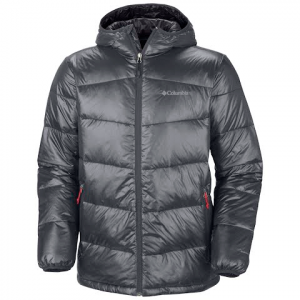 Columbia Men ' S Gold 650 Turbodown Down Jacket - Graphite