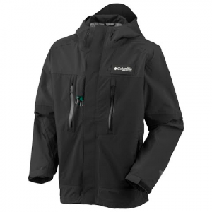 Columbia Mens Pfg Supercell Jacket - Black