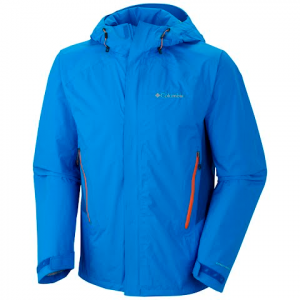 Columbia Men ' S Pour Osity Stretch Jacket - Hyper Blue