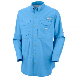 Columbia Mens Bonehead Long Sleeve Shirt - Whitecap