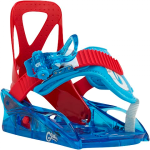 Burton Youth Grom Snowboard Binding - Red / Blue