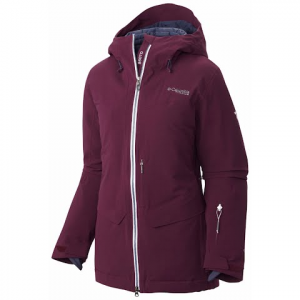 Columbia Women ' S First Tracks 860 Turbodown Jacket - Purple Dahlia