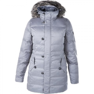 Berghaus Women ' S Brantome Hydrodown Fusion Jacket - Light Grey