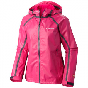Columbia Women ' S Outdry Ex Gold Tech Shell Jacket - Haute Pink