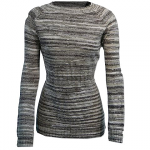 Columbia Women ' S Melange Meadow Pullover Sweater - Stone Multi