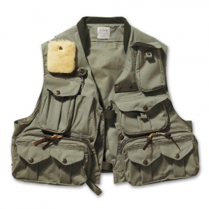 Filson Fly Fishing Guide Vest - Green