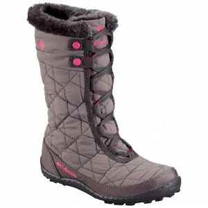 Columbia Girl ' S Youth Minx Mid Ii Omni - Heat Waterproof Winter Boot - Shale / Glamour