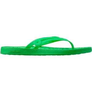 Bogs Women ' S Hudson Rubber Sandal - Leaf Green