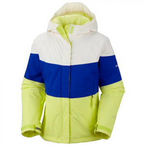 Columbia Toddler Girl ' S Triple Run Jacket - Neon Light
