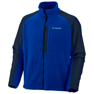 Columbia Mens Ten Trail Fleece , Big And Tall - Dynasty
