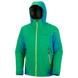 Columbia Men ' S Omni - Heat In The Light Jacket - Fuse Green