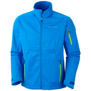 Columbia Men ' S Millon Air Softshell - Hyper Blue