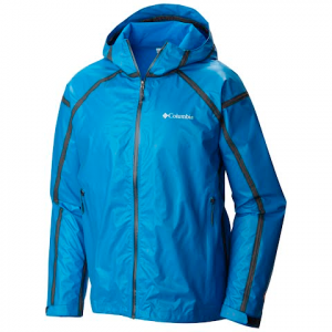Columbia Men ' S Outdry Ex Gold Tech Shell Jacket - Hyper Blue