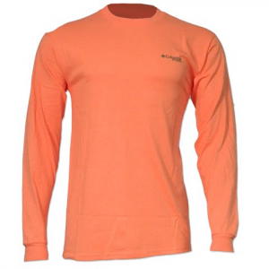 Columbia Men ' S Phg Live The Hunt Long Sleeve Tee - Heatwave