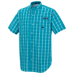 Columbia Mens Super Bonehead Classic Short Sleeve Shirt ( 1x - 5x ) - Mariner