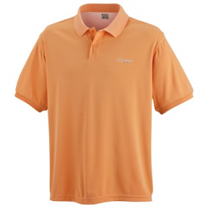 Columbia Skiff Guide Short Sleeve Polo Shirt - Orange Sherbert