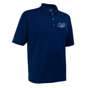Antigua Mens Msu Bobcats Exceed S / S Polo - Navy