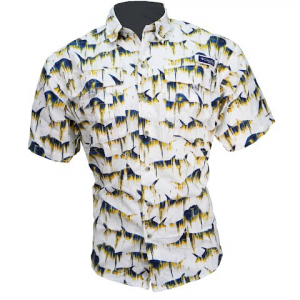 Columbia Men ' S Super Bahama Shortsleeve Shirt - White